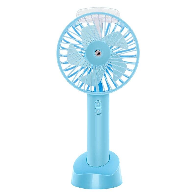 พัดลม Usb แบบพกพา Cooler พัดลมระบายความร้อนขนาดเล็กพ็อกเก็ตน้ำ Mist Cooling Air Humidifier-ใน พัดลม จาก เครื่องใช้ในบ้าน บน title=