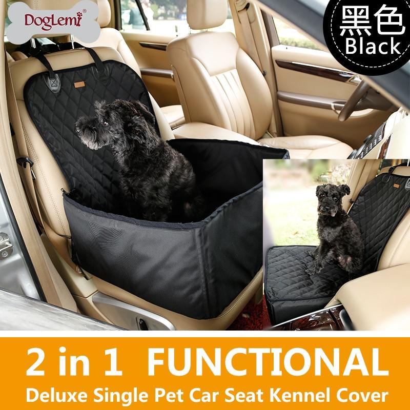 Pet dog puppy carrier car bag mats thick pad waterproof breathable pet car mat safety car