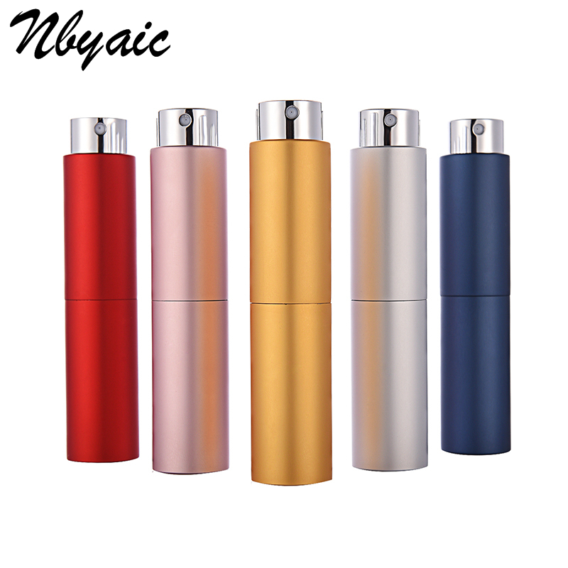 Nbyaic 1Pcs 5ml 8ml Hot Items Rotating Spray Bottles, Perfume Atomizer, Perfume Packing Tools 7 Colors Optional Free Shipping