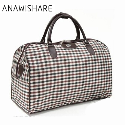 ANAWISHARE 2018 Women Travel Bags Large Capacity Men Luggage Travel Duffle Bags Travel Handbag For Male For Trip Waterproof B016