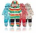 Lente en herfst outdoor kinderen jumpsuit jas, jongen en meisje en najaar jumpsuit winddicht en waterdicht, 4 stijlen
