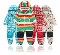 Spring and autumn outdoor children's jumpsuit jacket, boy and girl spring and autumn jumpsuit windproof and waterproof,4 styles