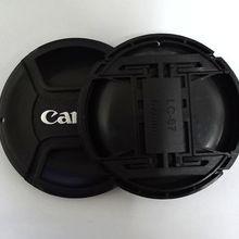 Крышка объектива камеры 49 мм 52 мм 55 мм 58 мм 62 мм 67 мм 72 мм 77 мм 82 мм логотип для Canon(обратите внимание на размер