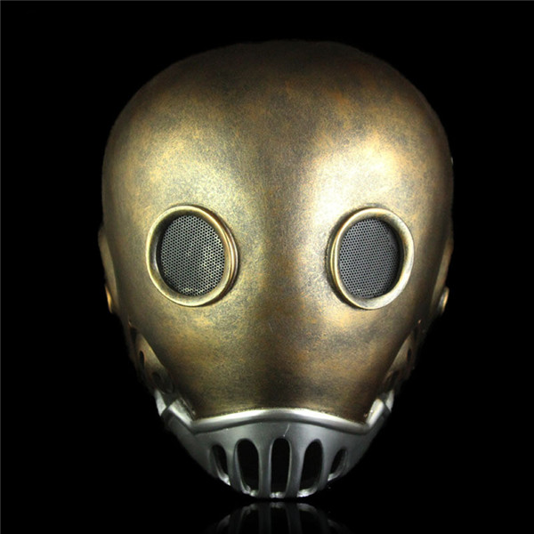 Free Shipping Clock man Mask Coolest Hellboy Halloween Costumes Toy Theme Dress up party props Horror Prank Joke Gifts