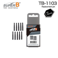 Super B TB-1103 Replace pins set for chain rivet extractor bike tool