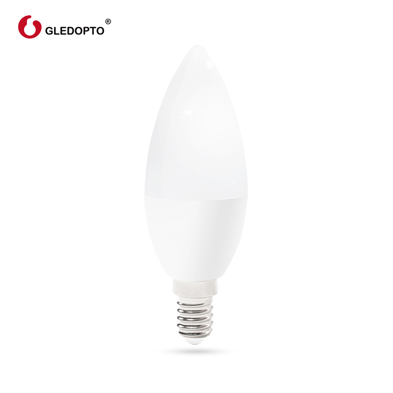 Image 5 - zigbee rgb led candlelight  APP smart control work with3.0 gateway smartthings 4w rgbw  warm white cool white LED e12 e14 tapy-in LED Bulbs & Tubes from Lights & Lighting