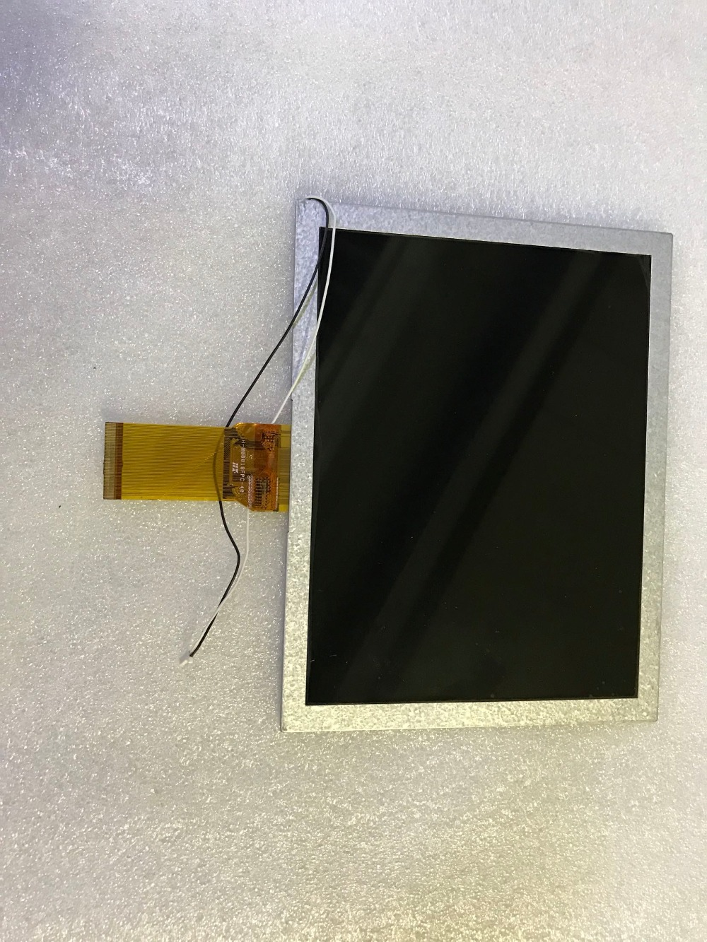 free shipping Original New 8 inch LCD screen original cable Model: H-B08018FPC-40 free shipping original new 7 inch lcd screen model lq070t3gg04