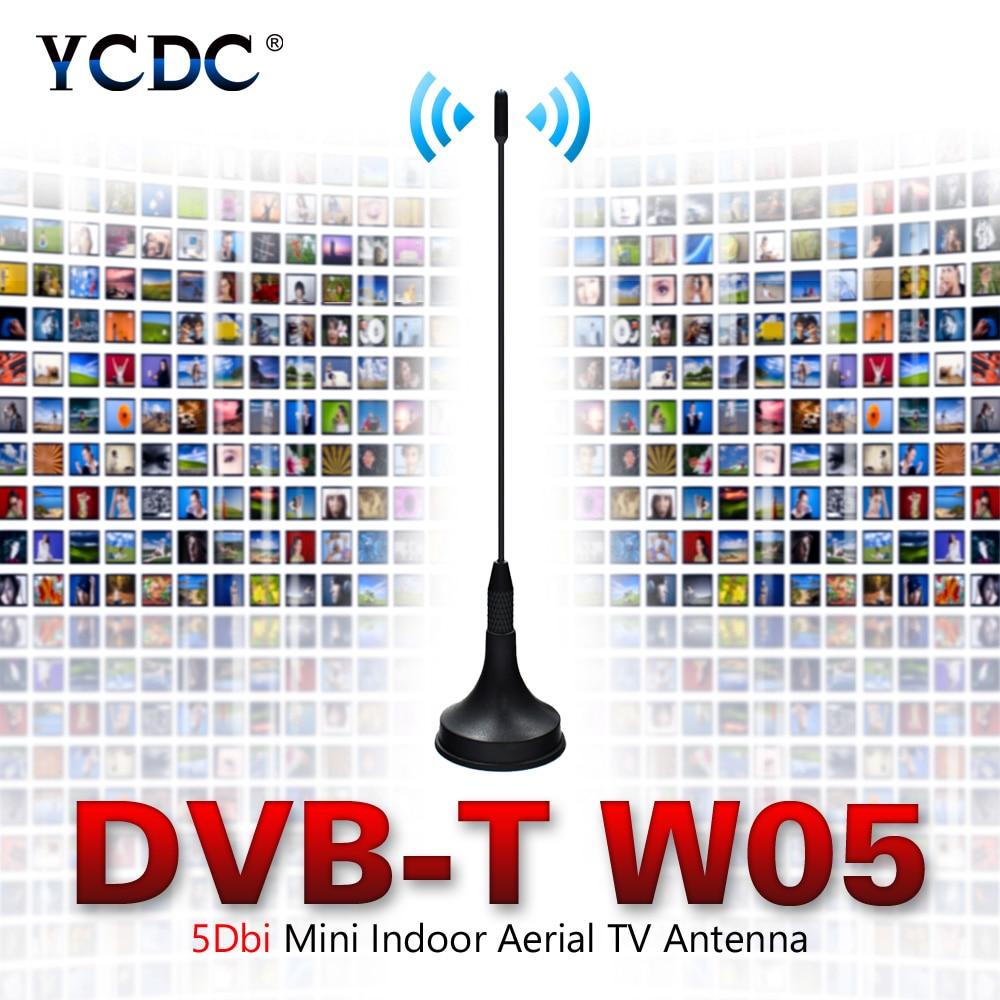 High Quality TV Antenna 5dBi Digital Freeview 5-DBI HDTV Antenna Aerial Booster For DVB-T Antena TV HD-TV Box