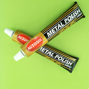 German AUTOSOL metal polishing paste scratch repair metal band bag zipper polishing copper province 50 g to 100 g