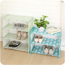 цена на 4 Layer Plastic Organizer for Shoes Multifuction Shoe Rack Shelf Storage Closet Organizer Cabinet Portable Bathroom Storages