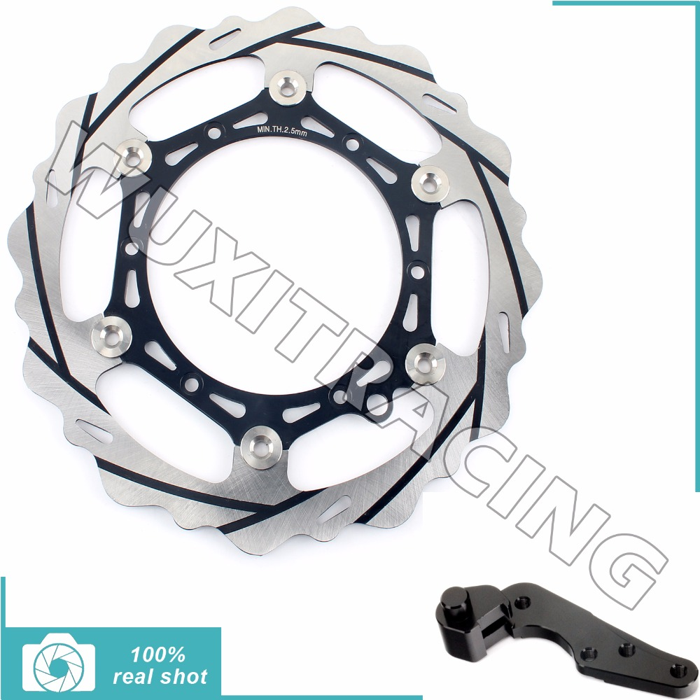 270MM Oversize Front Brake Disc Rotor Bracket for KTM EXC F SIX DAYS SXS SX F XC W 125 200 250 300 350 400 450 500 530 09-15 10  0584 new team graphics with matching backgrounds for ktm 125 200 250 300 450 500 exc xc w xcf w six days 2014 2015 2016