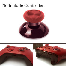 Dealonow Replacement red and blue 3D Thumbstick Joystick Cap for xbox one controller Original  Joystick Cap mixer fader knob cap word shouted hole width 8mm red and blue and yellow lime