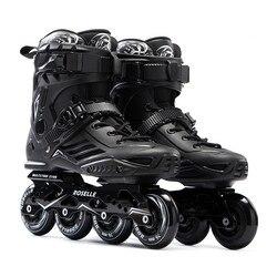 JK Оригинал Roselle S6 роликовые коньки профессиональное скольжение слалом бесплатное Катание на коньках для взрослых Обувь для катания на роли...