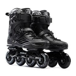JK Original Roselle S6 Inline Skates Berufs Slalom Schiebe Freies Skating Erwachsene Roller Skating Schuhe Gut Wie SEBA Patines P1