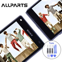 Original 4 6 1280x720 For SONY Xperia Z5 Compact LCD Touch Screen Z5 MINI Display Digitizer