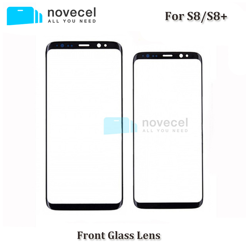 Novecel OEM New Front Glass Lens For Samsung S8 / S8+ / Note 8 N950 LCD touch screen glass replacement for S8 G950/S8 Plus G955