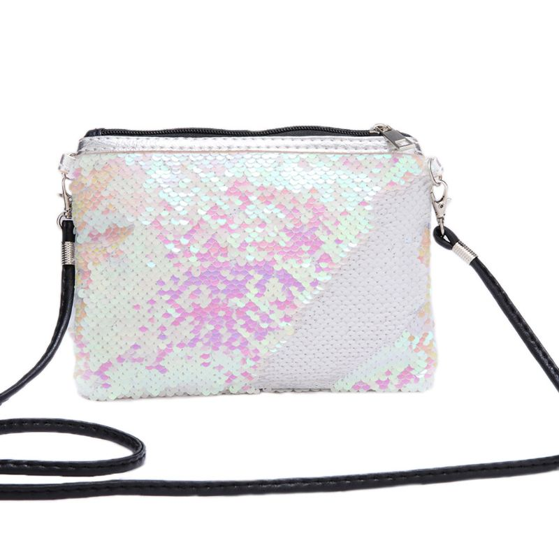 Новая женская модная маленькая сумочка с блестками сумки для
