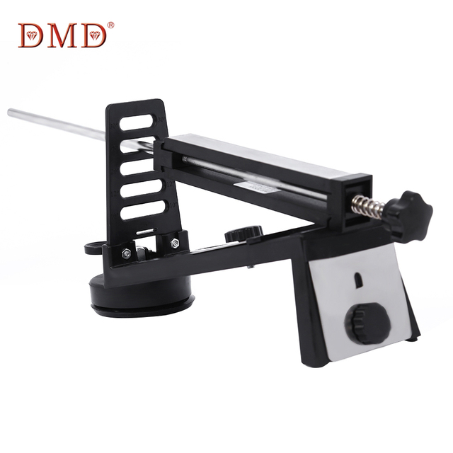dmd adjustable fixed angle knife sharpener with 3 whetstones professional knife sharpening for kitchen knives - Kitchen Knife Sharpener