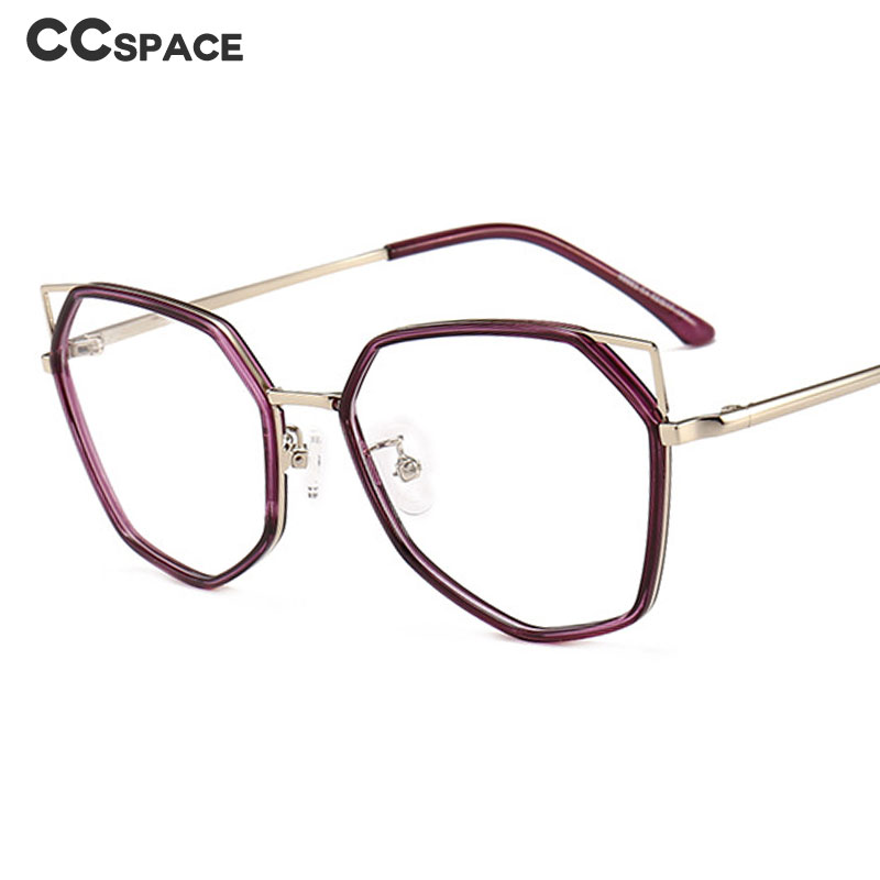 Cat Eye Personality Glasses Frames Men Women Optical Fashion Computer Glasses 47955
