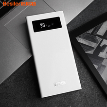 Besiter Power Bank 20000mAh Quick Charger Powerbank External Battery Bank with LCD Screen Power Supply for Xiaomi Samsung Huawei
