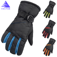 VECTOR Warm Ski Snowboard Gloves Women Men Winter Outdoor Snowmobile Motorcycle Riding Windproof Waterproof Snow Gloves