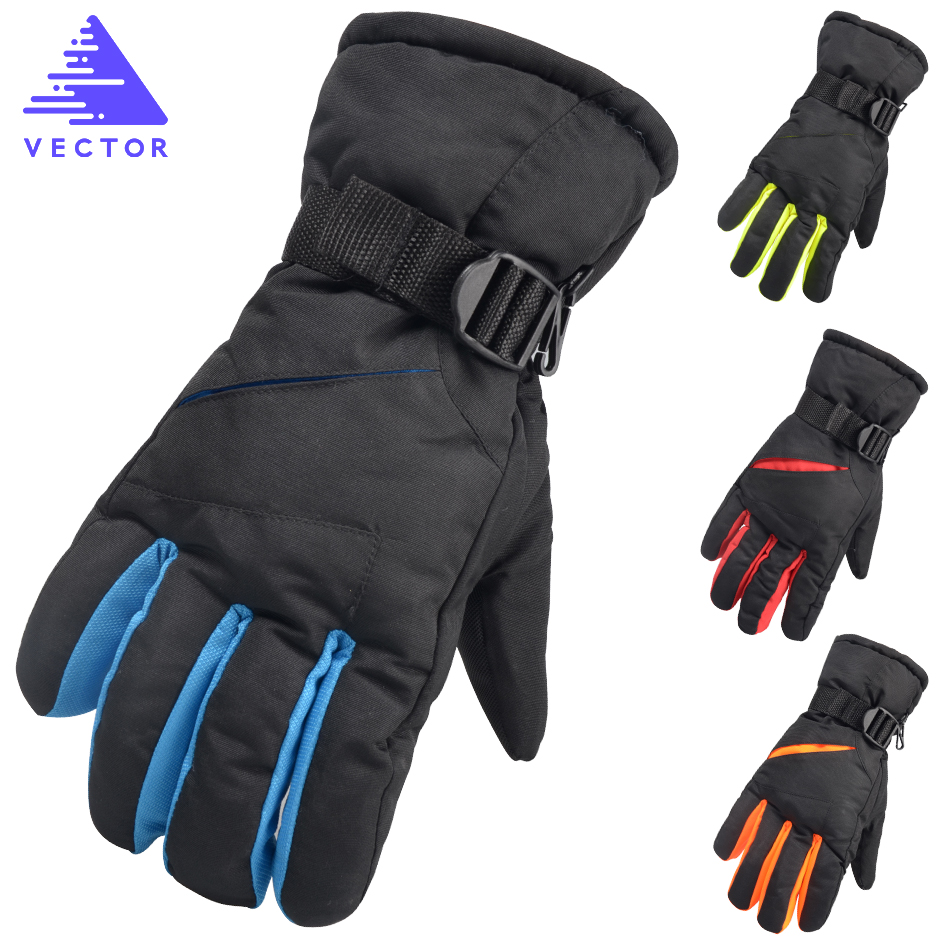 d2ea4ba2660394 Detail Feedback Questions about VECTOR Warm Ski Snowboard Gloves Women Men  Winter Outdoor Snowmobile Motorcycle Riding Windproof Waterproof Snow Gloves  ...