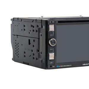 Image 2 - HEVXM 6610 Universal 6.2 inch Car DVD Navigation Player Car Radio Multimedia MP5 Play GPS Navigator Dual Spindle Car Video Play