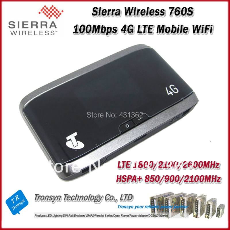 Original Unlock LTE 100Mbps Sierra Wireless Aircard 760S 4G Sim Card Mobile WiFi Router And 4G LTE WiFi Router