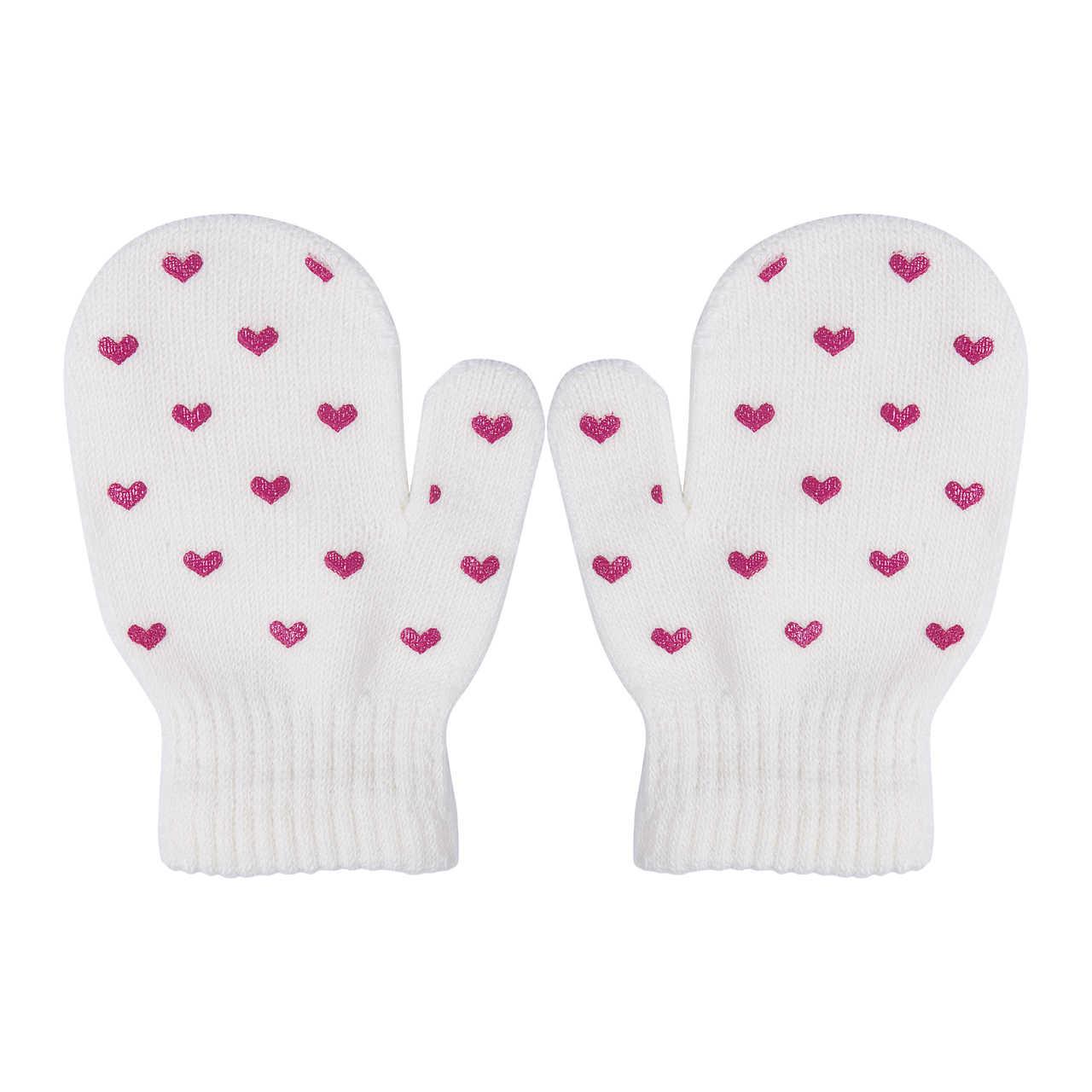 כוכב & לב הדפסת תינוק כפפות בני ובנות רך סריגה חם ילדי ילדים כפפות דפוס 2018 אופנתי אופנה תינוק כפפות
