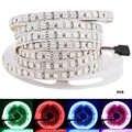5050 LED Şerit Işık 600 LEDs/5 Metre DC 12 V/24 V Yüksek Lümen Su Geçirmez IP33 IP65 IP67 SMD 5050 LED Diyot Şerit bant ışık