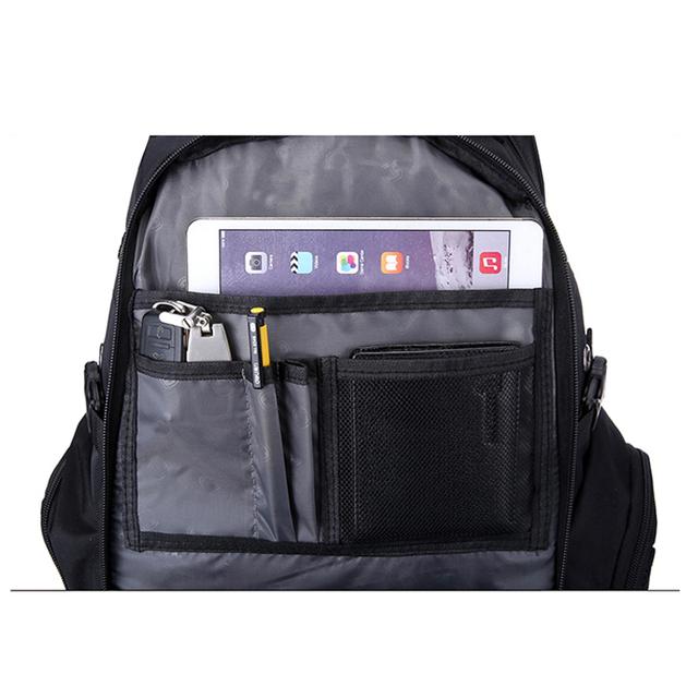 Nieuwe Oxford Zwitserse Rugzak USB opladen 17 inch Laptop Mannen Waterdichte Reizen Rugzak Vrouwelijke Vintage Schooltas rugzak mochila