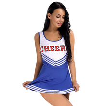 IIXPIN Sexy schoolgirl cosplay costume Cheerleader Uniform Fancy Mini Dress Costume Outfits Women's School Girls Musical Uniform