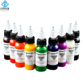 OPHIR 9 Colors 30ml/bottle Professional Tattoo Ink Pigment High Quality Body Tattoo Art Colors Body Art Tattoo Supply _TA021