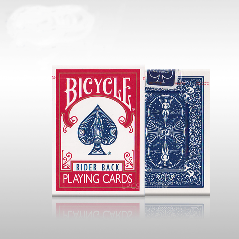 USPCC Printed Blue Mark Bicycle Playing Cards US Imported The Classical Red/Blue Bicycle Poker Collection Gift Cards