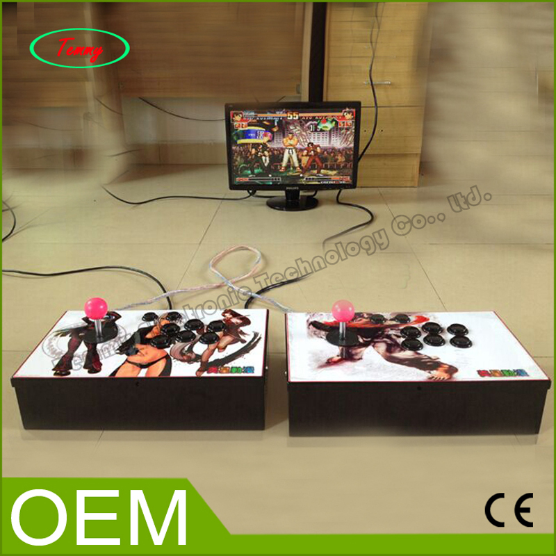 New arrival classic arcade game console with Pandora's Box 3 game PCB board multi games 520 in 1 sanwa button and joystick use in video game console with multi games 520 in 1