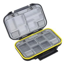 SEWS 12 Compartments Storage Case Fly font b Fishing b font Lure Spoon Hook Bait font