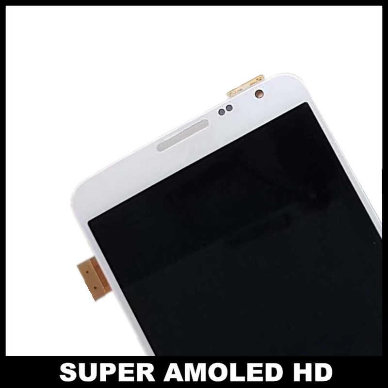 Super AMOLED LCDs para Samsung Galaxy Note3 Note 3 Neo Lite N750 N7502 N7505 pantalla LCD digitalizador de pantalla táctil reemplazo