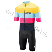 21 Styles HOT Morvelo ropa ciclismo Summer New Team Triathlon cycling Skinsuit Ciclismo Hombre Short Sleeve MTB cycling clothes