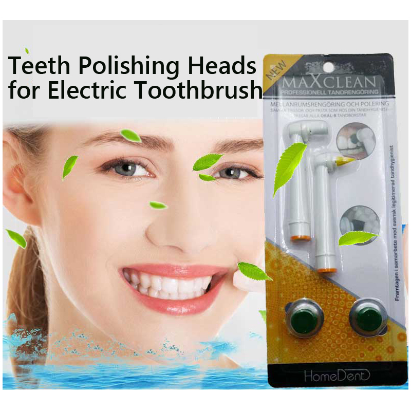 2 Pcs Teeth Polishing Electric Toothbrush Heads for Teeth Whitening Suitable for Electric Rotation Toothbrush2 Pcs Teeth Polishing Electric Toothbrush Heads for Teeth Whitening Suitable for Electric Rotation Toothbrush