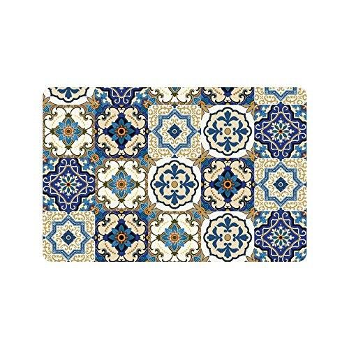 Čudovit lopatice za maroške ploščice za vrata iz nedrsečih - Domači tekstil
