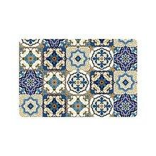 Cantik Patchwork Maroko Ubin Keset Non-Slip Dalam Ruangan Dan Luar Pintu Tikar Karpet Dekorasi Rumah, Masuk Karpet Lantai Tikar