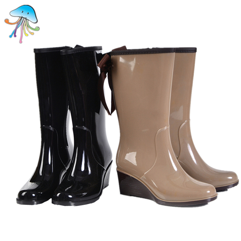 Compare Prices on Pink Ribbon Rain Boots- Online Shopping/Buy Low ...