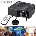 GM40 Портативный Мини-Проектор 320x240 Мультимедиа Кино Цифровой СВЕТОДИОДНЫЙ Проектор VGA/USB/SD/AV/HDMI GM40 Проектор PK UC46 GM60