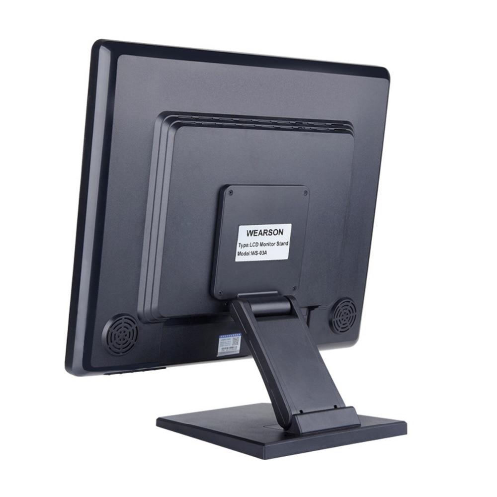Wearson WS-03A Tənzimlənən LCD Monitor Stendi Qatlanan VESA - Kompüter periferikler - Fotoqrafiya 2