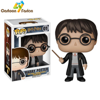 High Quality Funko POP Harry Potter PVC Action Figure Collection Model Toy Doll 10cm Christmas Gift