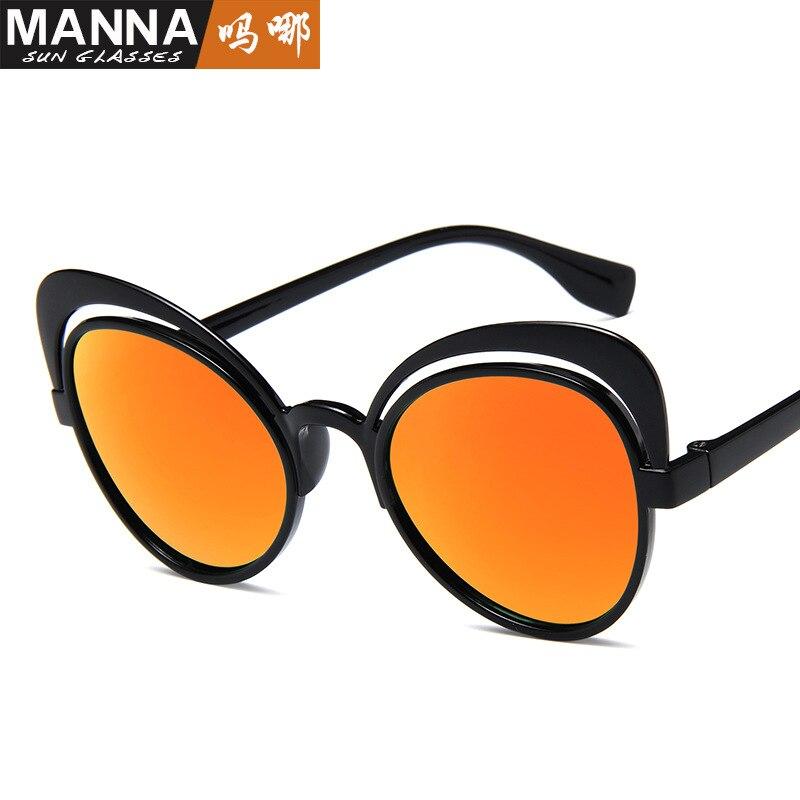 Europäischen und Amerikanischen sonnenbrille neue schmetterling sonnenbrille mode persönlichkeit hohlen katzenauge straße sonnenbrille