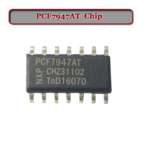 Free Shipping PCF7947AT Transponder Chip  For Renault Remote Now 10pc/lot  With Lowest Price