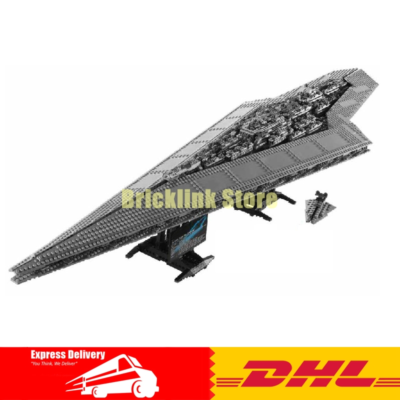 IN STOCK LEPIN 05028 3208PCS Execytor Super Star Destroyer Model Building Wars Kit Block Brick Toy Gift Compatible 10221 lepin 05028 3208pcs star wars building blocks imperial star destroyer model action bricks toys compatible legoed 75055