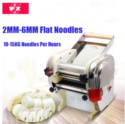 180W automatic electric noodle machine ,flat noodle maker,electric pasta maker for home and restaurant use