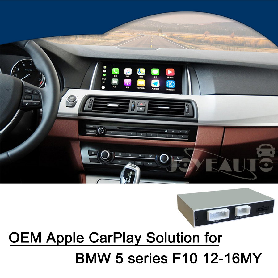 Aftermarket OEM Full Apple CarPlay Android Auto Screen for BMW 1/2/3/4/5/7 Series X3 X4 X5 X6 MINI With NBT System